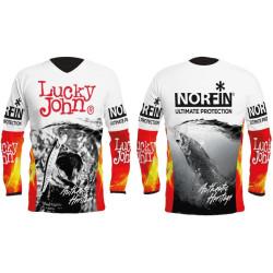 T-shirt Lucky John FIRE
