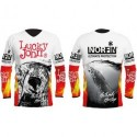 AM-7001-04XL T-shirt Lucky John FIRE