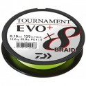12761-008 Braided line Daiwa TOURNAMENT X8 BRAID EVO+ 135m