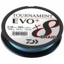 12762-135 Braided line Daiwa TOURNAMENT X8 BRAID EVO+ 300m