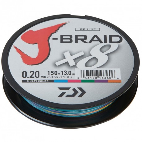 Braided line Daiwa J-BRAID X8 300m