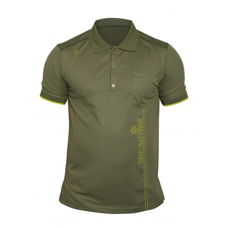T-Shirt POLO NORFIN GREEN