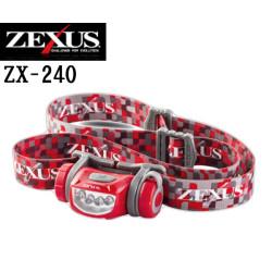 Фонарь налобный Zexus ZX-240PR