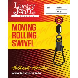 Pöörlaga karabiin LJ BH Moving Rolling Swivel