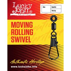 Pöörlaga karabiin LJ LH Moving Rolling Swivel