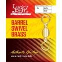 LJ5003-018 Swivel LJ Barrel Swivel Brass