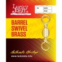 LJ5003-020 Swivel LJ Barrel Swivel Brass