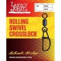 LJ5057-K010 Swivel LJ Rolling Swivel Crosslock