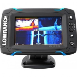 Fishfinder LOWRANCE ELITE-5TI Mid/High/Totalscan