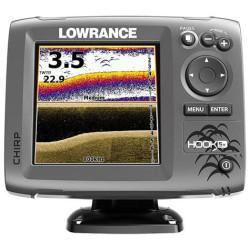 Fishfinder LOWRANCE HOOK-5X Mid/High, DownScan