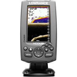 Fishfinder LOWRANCE HOOK-4X Mid/High CHIRP ja DownScan