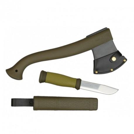 Morakniv Outdoor Kit MG, knife Morakniv 2000 + axe 1-2001